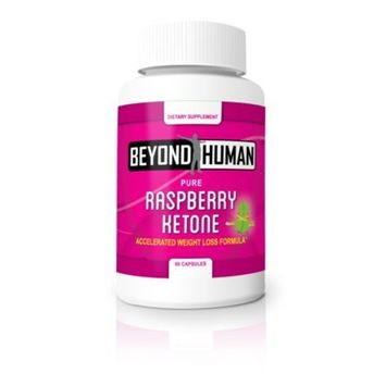 Beyond Human Raspberry Ketones | Advanced Antioxidant Blend with Acai Fruit, Mango Extract & Green Tea for Weight Management | Boosts Energy Levels & Metabolism - 60 capsules