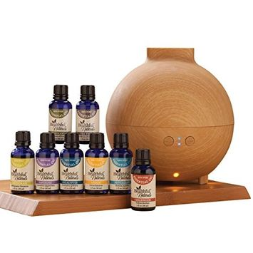 HealthfulTM Naturals Deluxe Kit & 600 ml Diffuser