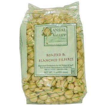 Jansal Valley Roasted Blanched Hazelnuts, 1 Pound