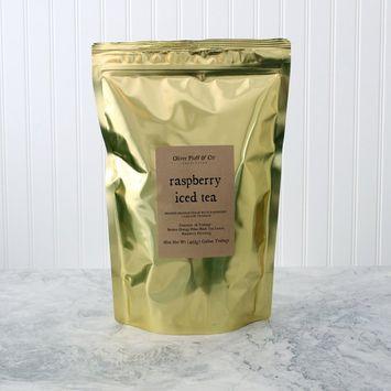 Raspberry Iced Tea - Teabags by the Pound [Raspberry]