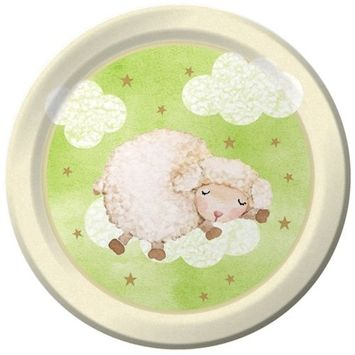Creative Converting Baby Shower Ba Ba Baby 8 Count Paper Dinner Plates