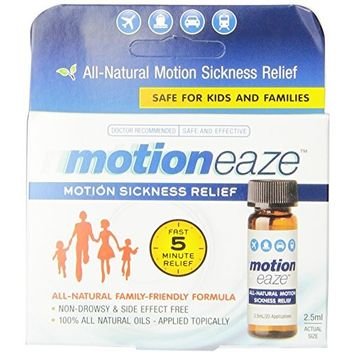 MotionEaze Motion Sickness Relief All Natural Formula 2.5 ML