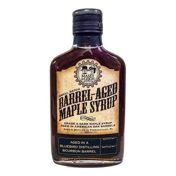 Coffee Bourbon Barrel-Aged Maple Syrup (200 mL)