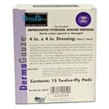 Dermarite DermaGauze Hydrogel Wound Dressing - 4 x 4 Inch