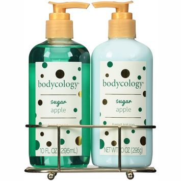 Bodycology Sugar Apple Hand Soap & Lotion, 2 piece