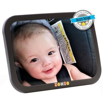 Zohzo Back Seat Rear-Facing Baby Mirror