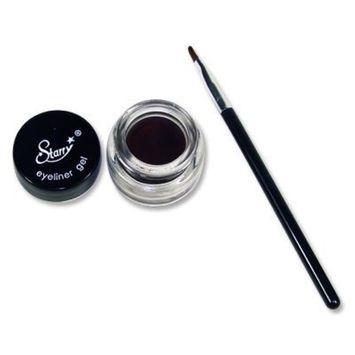 Starry Long Lasting Waterproof Eyeliner Gel with Brush Choclate Brown by STARRY