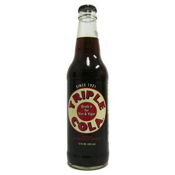 (Retro) Triple Cola 12 Pack : Soda Soft Drinks : Grocery & Gourmet Food