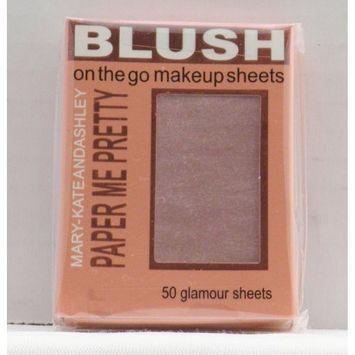 Mary-Kate & Ashley Paper Me Pretty Blush Makeup Sheets - Warmth #809