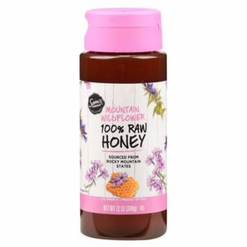 Sam's Choice 100% Raw Honey, Mountain Wildflower, 12 oz