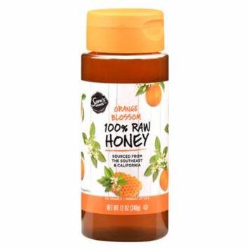 Sam's Choice 100% Raw Honey, Orange Blossom, 12 oz
