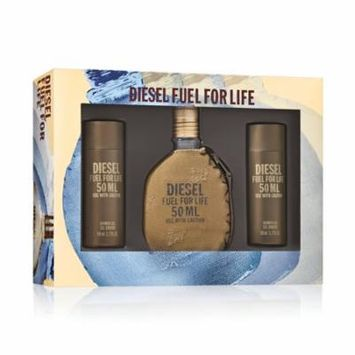 Diesel Fuel For Life Fragrance Gift Set for Men, 3 piece