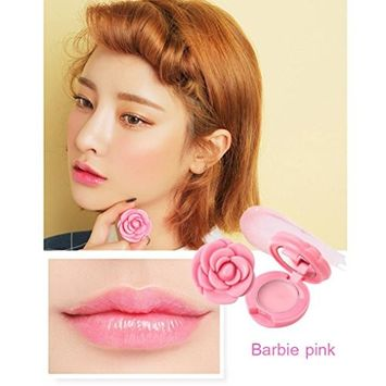 Hot Sales! DEESEE(TM) Rose Petals Lasting Waterproof Lipstick Moisturizing Lipstick Lip Gloss Make up