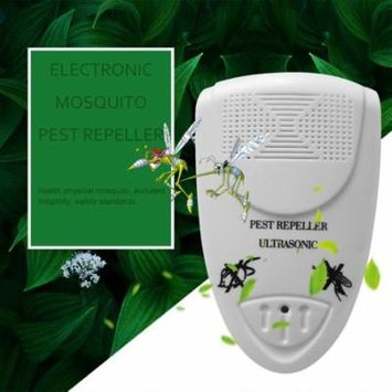 Electronic Ultrasonic Home Use Anti Mosquito Pest Killer Magnetic Repeller White
