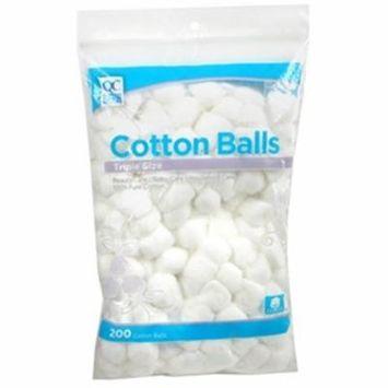 Quality Choice Triple Size Cotton Balls 200 Each