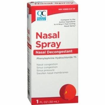 Quality Choice 4 Way Acting Nasal Spray 1oz Each