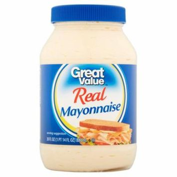 (3 Pack) Great Value Real Mayonnaise, 30 fl oz