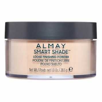 Almay Smart Shade Loose Finishing Powder, 200 Light Medium, 1 Oz (Pack of 2)