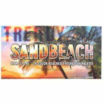 OKALAN Sandbeach 16 Color Shadow Palette E060