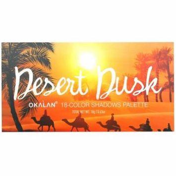 OKALAN Desert Dusk 18 Color Shadow Palette E056