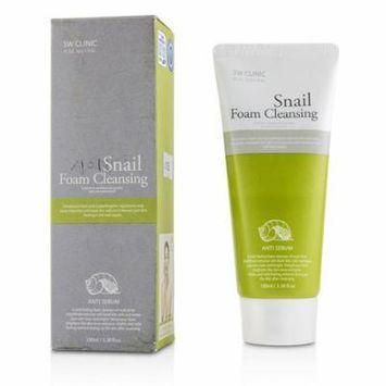 3W Clinic - Snail Foam Cleansing - 100ml/3.38oz