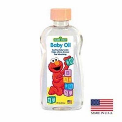 Blue Cross Laboratories 693-4 PE 7 oz 7oz Sesame Street Baby Oil, Pack of 24