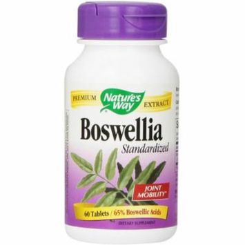 Nature's Way Boswellia Tablets 60 ea (Pack of 6)