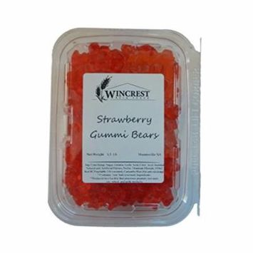 Albanese Gummi Bears - 1.5 Lb Package - Assorted Flavor (Strawberry Bears)