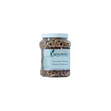 Cinnamon Honey Pretzels Grahams - 1 Lb Tub