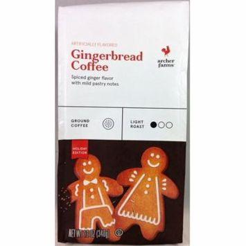 Archer Farms Gingerbread Holiday Edition Ground Coffee - 12 oz