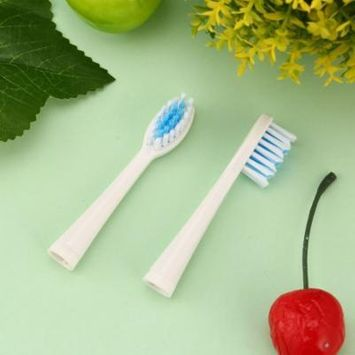 2Pcs Electric Replacement Dupont Nylon Brush Heads for Seago SG-881 Toothbrush