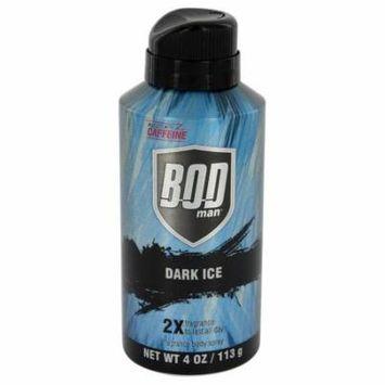 Bod Man Dark Ice by Parfums De CoeurBody Spray 4 oz-Men