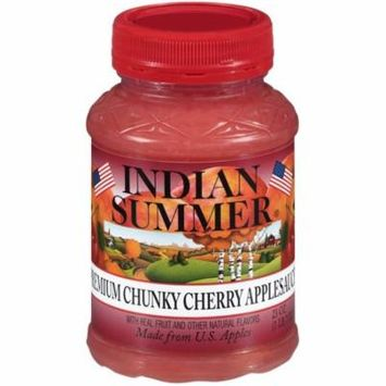 (2 Pack) Indian Summer® Premium Chunky Cherry Apple Sauce 23 oz. Jar