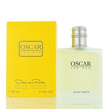 OSCAR FOR MEN/OSCAR DE LA RENTA EDT SPRAY (YELLOW) 3.4 OZ (M)