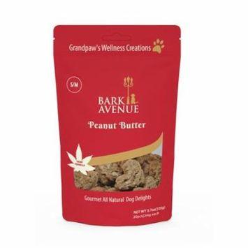 Bark Avenue SMPB001 2 mg Peanut Butter Dog Treat for Small & Medium Breed, 20 Piece