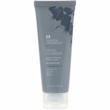 Pangea Organics Facial Cleanser Egyptian Calendula Blood Orange 4 fl oz 118 ml