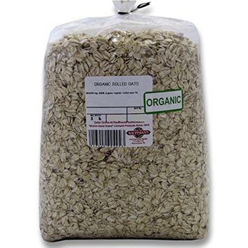 Bulk Organic Non-GMO Old-Fashioned Rolled Oats, 3 Lb. Bag