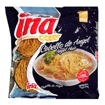 Ina Angel Hair Noodles 5.29 oz - Entrefino Fideos (Pack of 1)