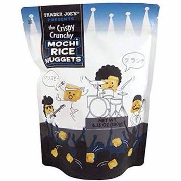 Trader Joe's New The Crispy Crunchy Mochi Rice Nuggets 6.35oz (1 Pack)