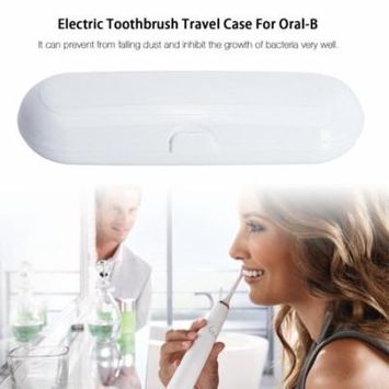 Electric Toothbrush Travel Case Carrying Replacement Toothbrush Protective Case Hard Case Camping Hiking Box For Oral-B