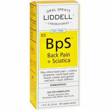 Liddell Homeopathic Back Pain Sciatica - 1 Fl Oz 2 Pack