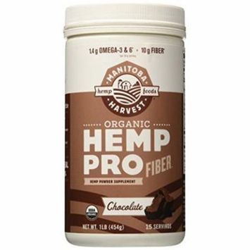 Manitoba Harvest Organic Hemp Protein Supplement, Chocolate, 16 Ounce