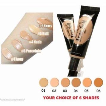 6 KLEANCOLOR TRUE SELF Luminous Mosturizing Cream Liquid Foundation SPF15