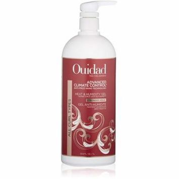 Ouidad Advanced Climate Control Heat and Humidity Gel STRONGER HOLD, 33.8 Ounce