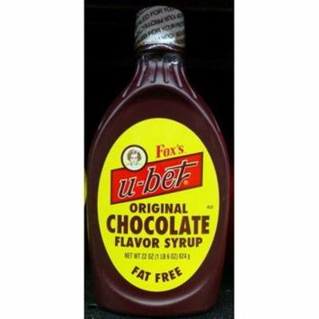 Fox's u-bet 22-Oz. Original Chocolate Syrup