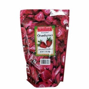 Trader Joe's Freeze Dried Strawberries Fruit Unsweetened Unsulfured Snack 1.2 oz