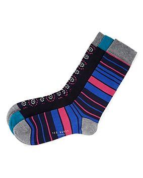 Ted Baker Ripack Socks Gift Set, Pack of 3