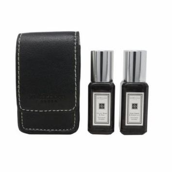 Jo Malone 2 Pieces Set Dark Amber & Ginger Lily VelvetRose & Oud 2X0.3oz/9ml New