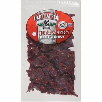 Old Trapper Hot & Spicy Beef Jerky, 10 oz