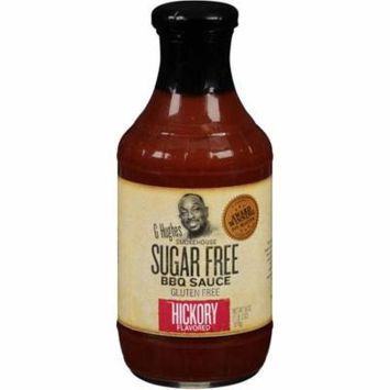 G Hughes BBQ Sauce Hickory Case of 6 18 oz.